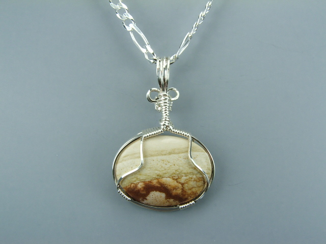 Picture Jasper Wire Wrap 2009